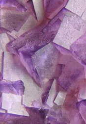 \Fluorine is found in nature in the form of calcium fluoride, CaF2, called fluorite, which forms regular crystals.