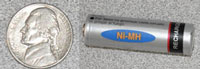 The American nickel is made up of a nickel-copper alloy. Nickel is also used in nickel-metal-hydride (Ni-MH) rechargeable batteries.